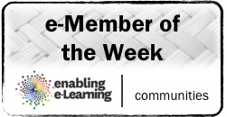 Badge for e-Member of the Week