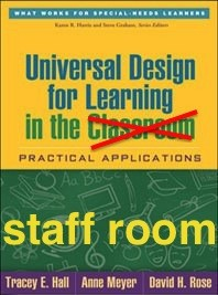 UDL in the staff room