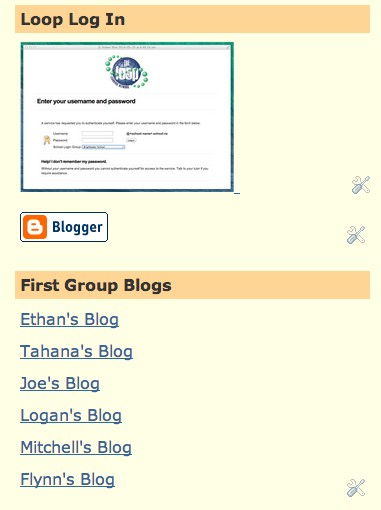 Individual blogs