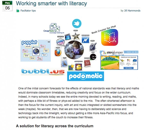 Working smarter with literacy