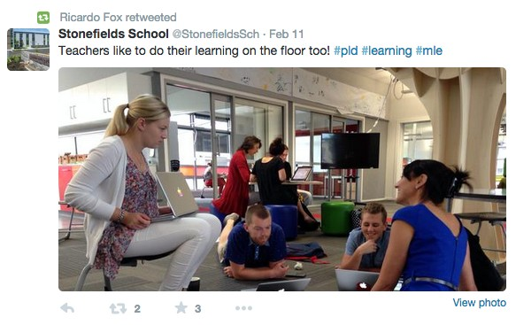 Professional learning at Stonefields
