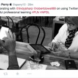 Twitter driving professional learning