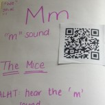 QR codes in modelling books