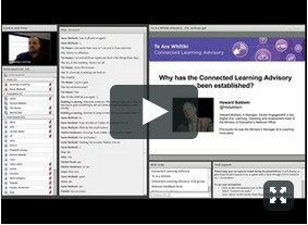 Screenshot of Introducing CLA webinar