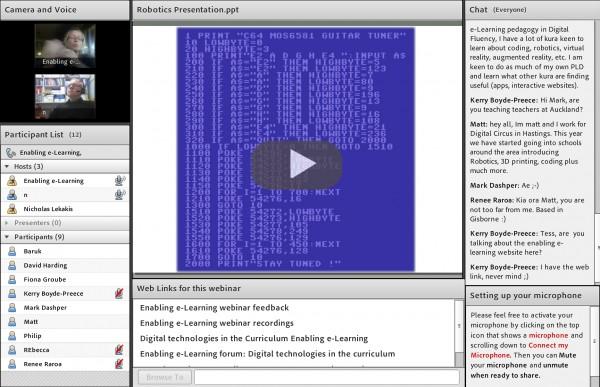 Screenshot robotics webinar