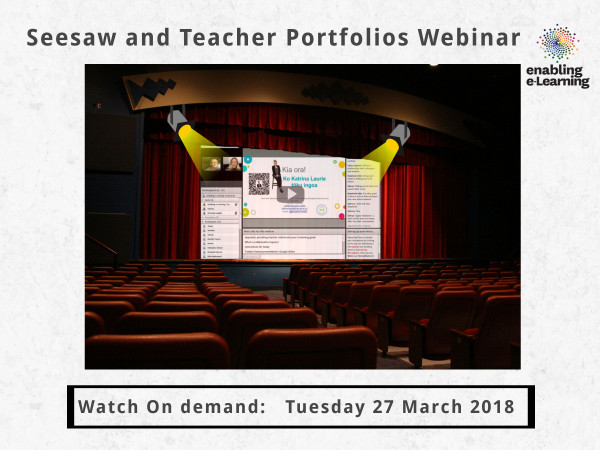 Spotlight on seesaw digital planners webinar