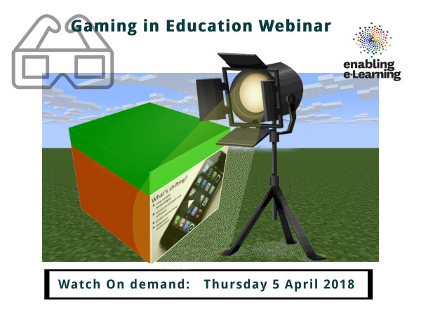 Spotlight on gaming in education webinar