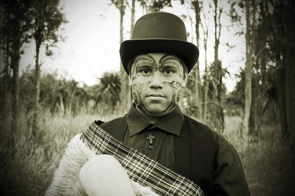 Māori boy