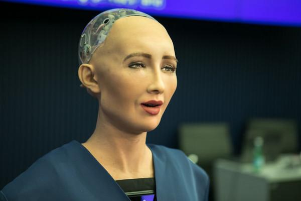 AI robotic Sandy