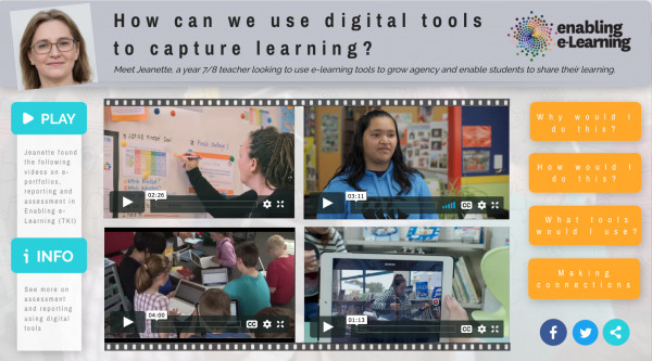 Digital tools to capture learning