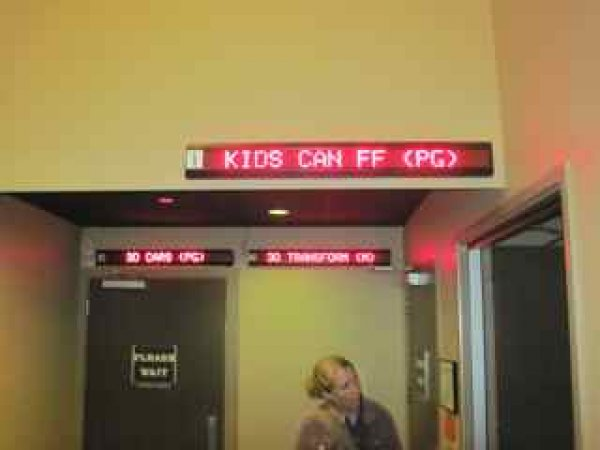 Kids Can - up there with Cars2 and Transformers 3
