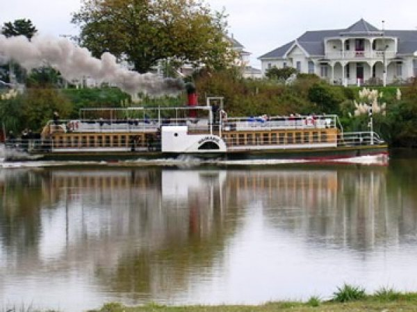 Waimarie paddle steamer, Wanganui, New Zealand