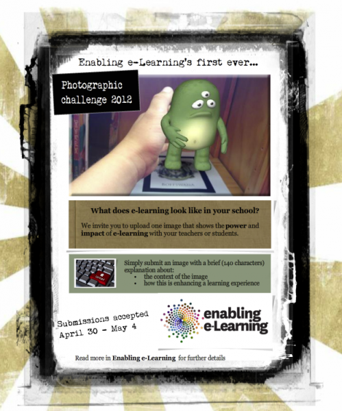 Enabling e-Learning photographic challenge