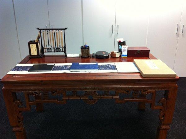 Calligraphy Desk