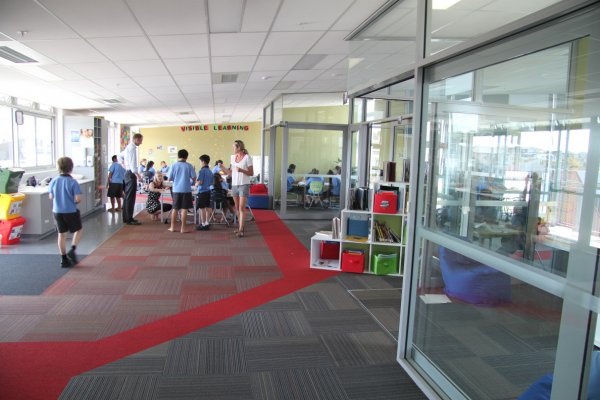 Learning hubs and breakout spaces