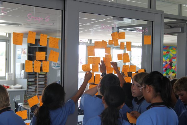 Students negotiating learning goals