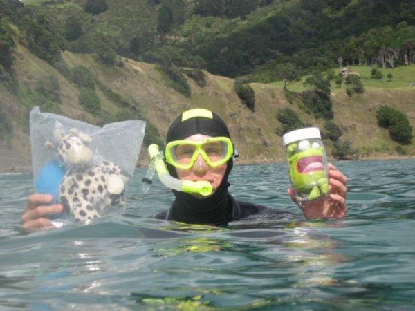 Creative Snorkelling.