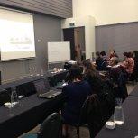 Watching our Keynote presentation from Karen Melhuish Spencer
