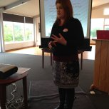 Vanessa Harold (Hutt Intermediate) talking about shared visioning and leadership