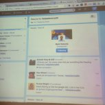 Live Twitter feed #eleadersnzsth