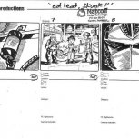 Storyboards for Diploma of Animation